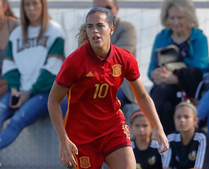 andrea sanchez falcón fútbol femenino barcelona selección española absoluta de fútbol