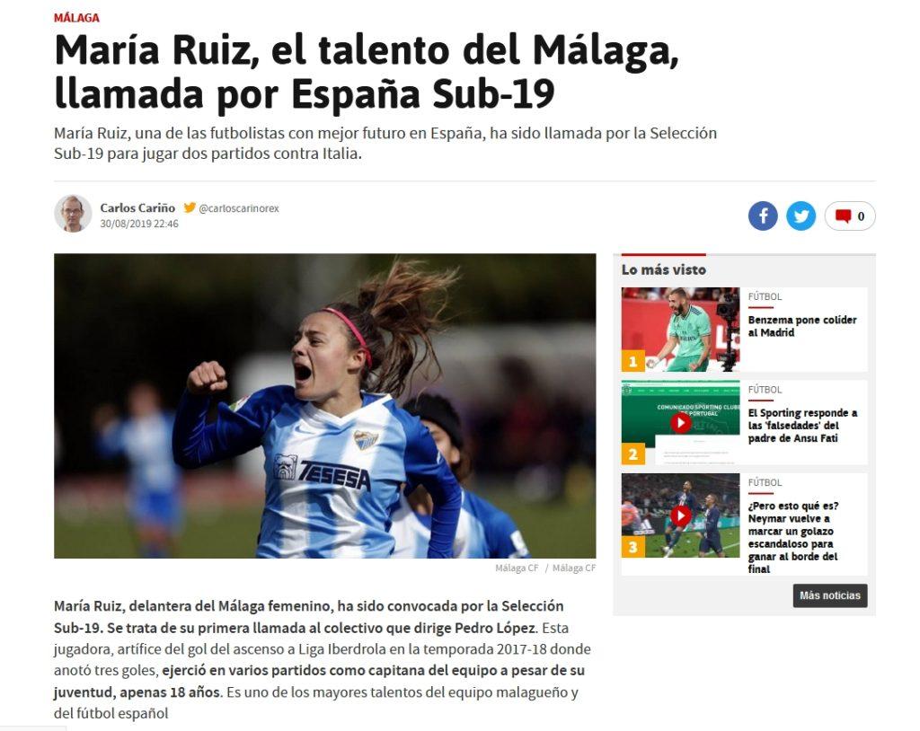maria ruiz futbolista malaga